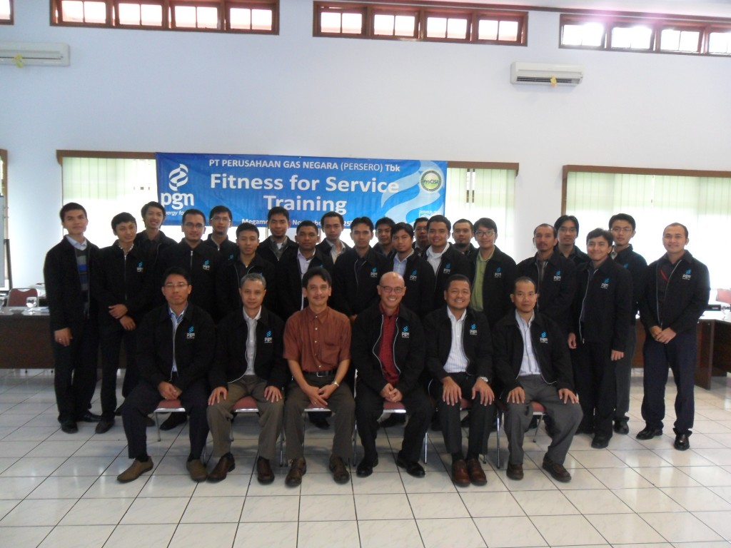 IHT Fitness for Service PT. PGN (Persero) Tbk. 23 - 25 Nov 2011