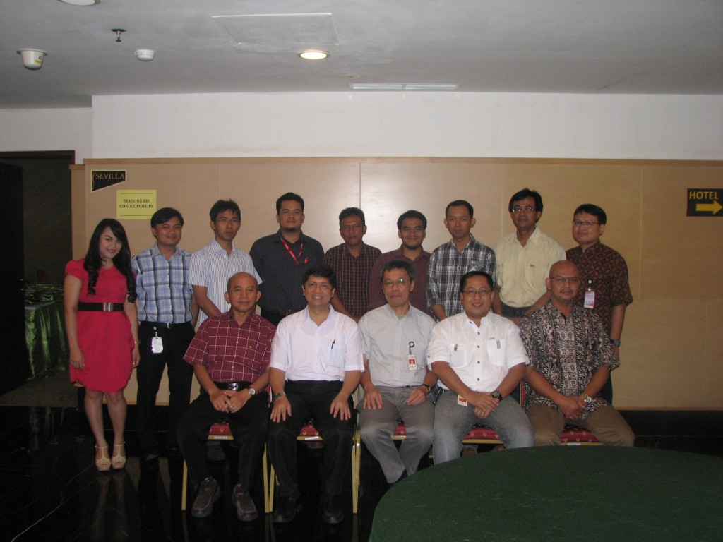 IHT RISK BASED INSPECTION CONOCOPHILLIPS INDONESIA BATCH I 5-7 MARET 2013
