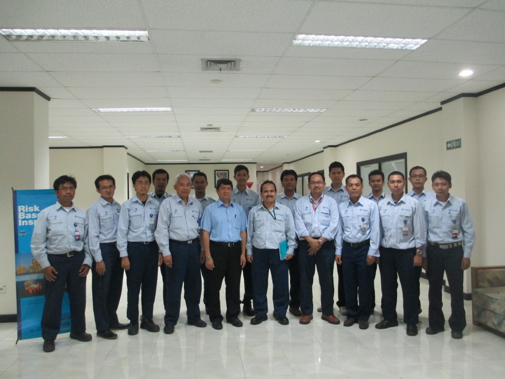 IHT RISK BASED INSPECTION PT. CHANDRA ASRI PETROCHEMICAL 19-21 AGUSTUS 2013