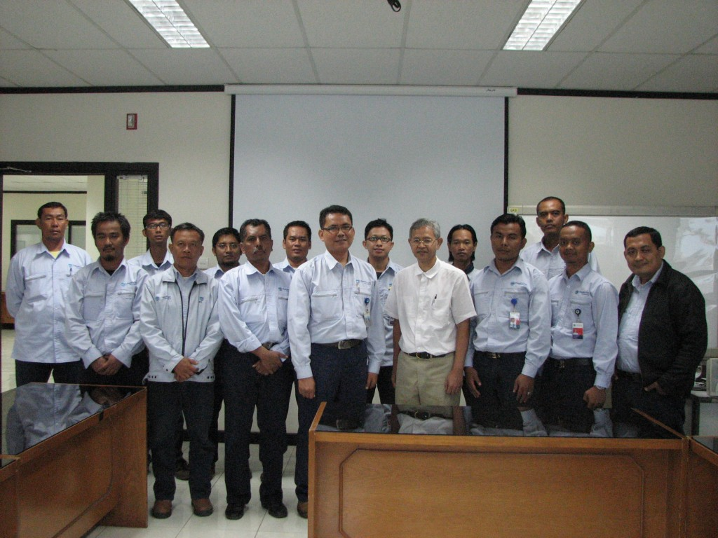 PT. CHANDRA ASRI PETROCHEMICAL-IHT CENTRIFUGAL PUMPS (ADVANCED LEVEL) 24-27 NOVEMBER 2014