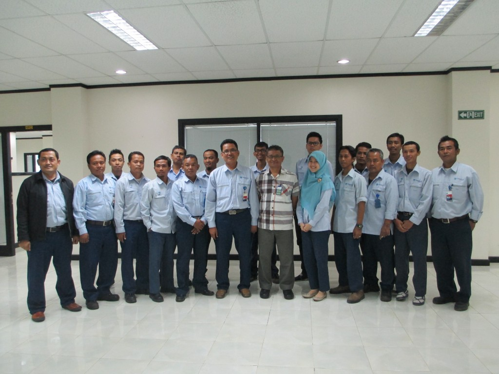 PT. CHANDRA ASRI PETROCHEMICAL-WORKSHOP COMPRESSORS AND PUMPS- 16-19 SEPTEMBER 2014