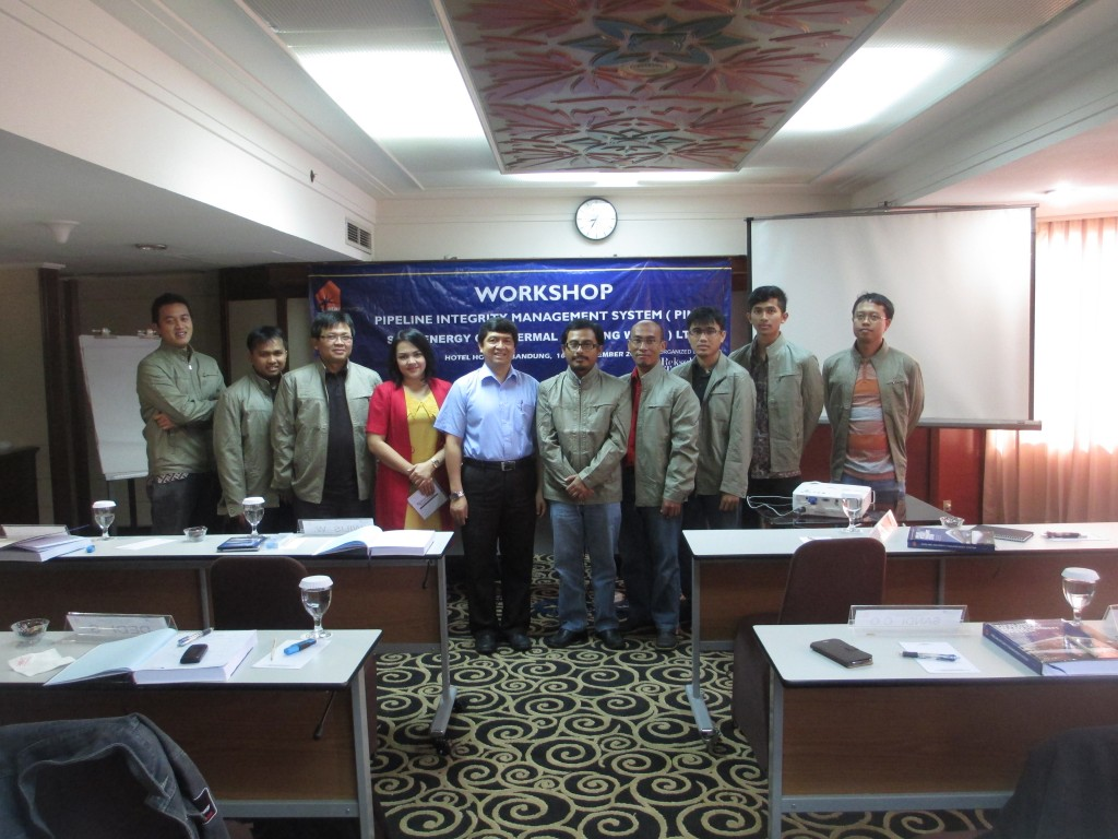 WORKSHOP PIPELINE INTEGRITY MANAGEMENT SYSTEM STAR ENERGY GEOTHERMAL WAYANG WINDU LIMITED 16- 18 DESEMBER 2013